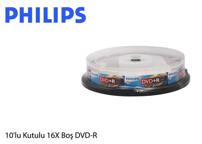 Philips DM4S6B10F-00 4.7GB 10lu Cake Box 16X DVD-R