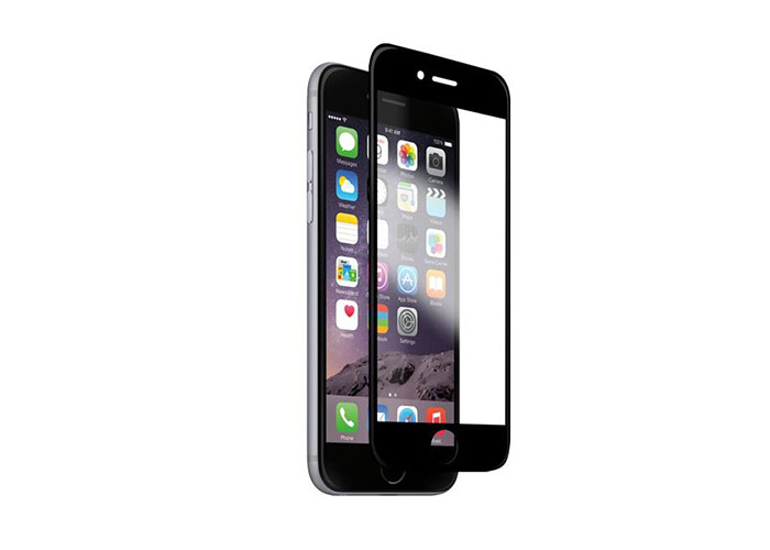 Addison IP-B1 Tempered Glass 0.3mm Black iPhone 6S Glass Screen Protector
