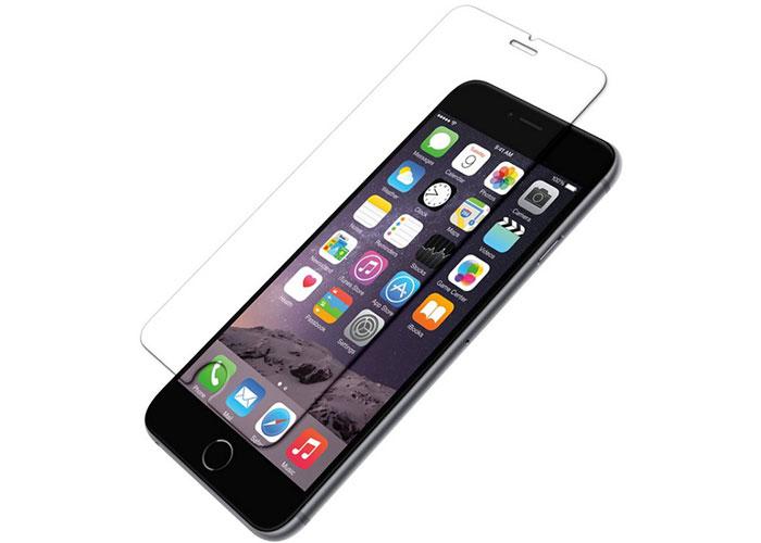 Addison IP-B2 Tempered Glass 0.3mm Siyah iPhone 6S Plus Cam Ekran Koruyucu
