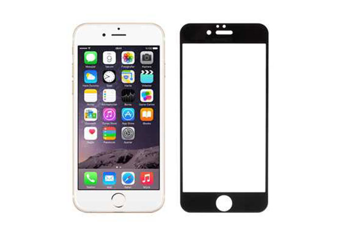 Addison IP-B3 Tempered Glass 0.3mm Siyah iPhone 6 4.7 Cam Ekran Koruyucu
