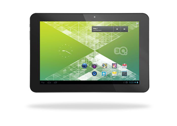 3Q RC1019G 10.1 1GB DDR3 1.2GHz x2 8GB Wifi BT Siyah Android 4.20 JellyB. Tablet Pc