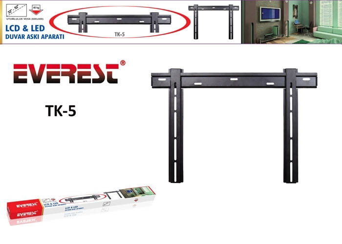 Everest TK-5 Lcd-Led Slim Askı Aparatı