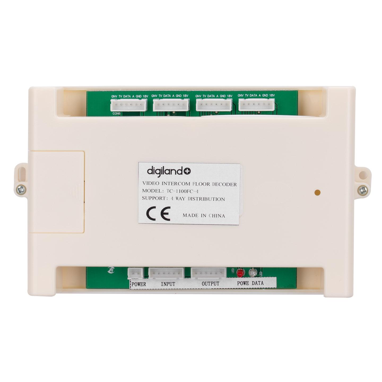 Digiland+ TC-1100FC-4 TC-1000 için Video Zemin Decoder