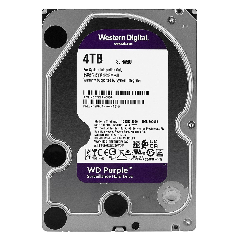 Western Digital Purple WD40PURX 4TB İntelPower White label 3.5 SATA HDD