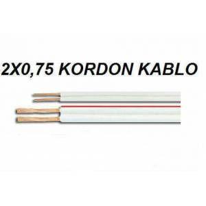Eyfel EY-KOR-100 2X0,75 100m CCS Kordon Kablo