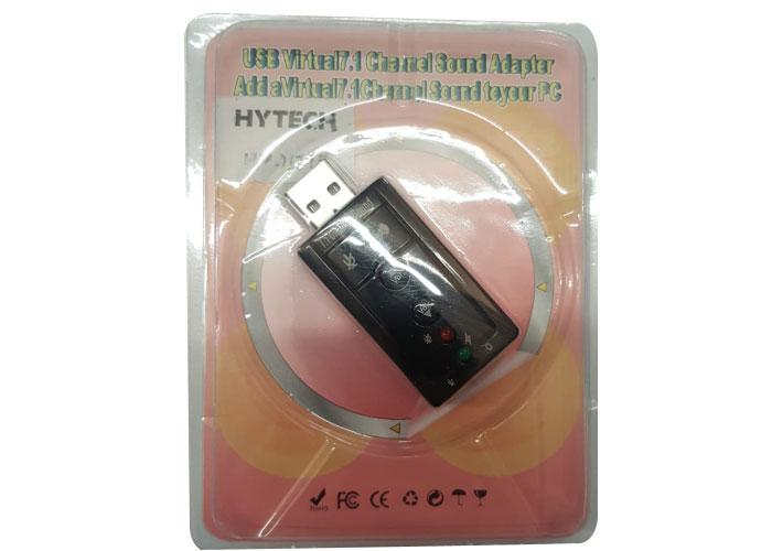 Hytech HY-U715 IOS Uyumlu USB Ses Karti 7.1 Dual Channel