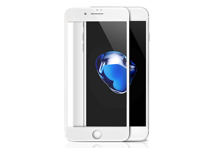 S-link Swapp SWE-IP7P2DW White iPhone 7G Plus Tempered 2D Glass Protector