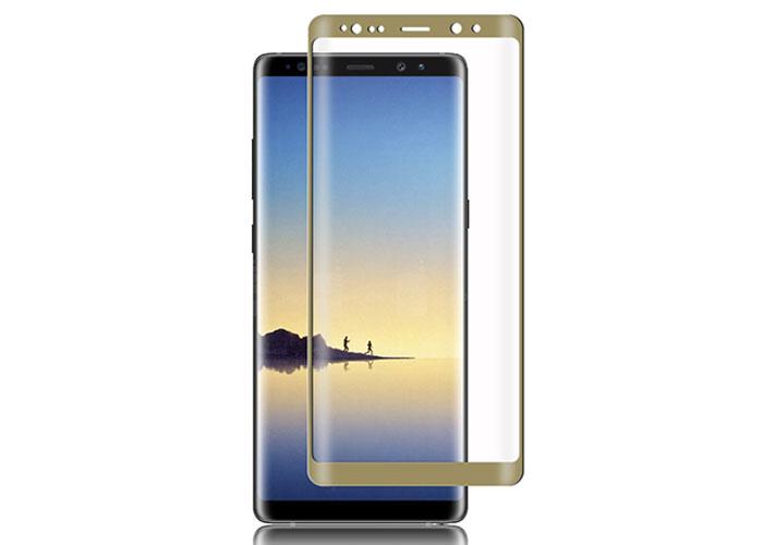 S-link Swapp SWE-S83DG Gold Samsung Galaxy S8 3D Cam Ekran Koruyucu