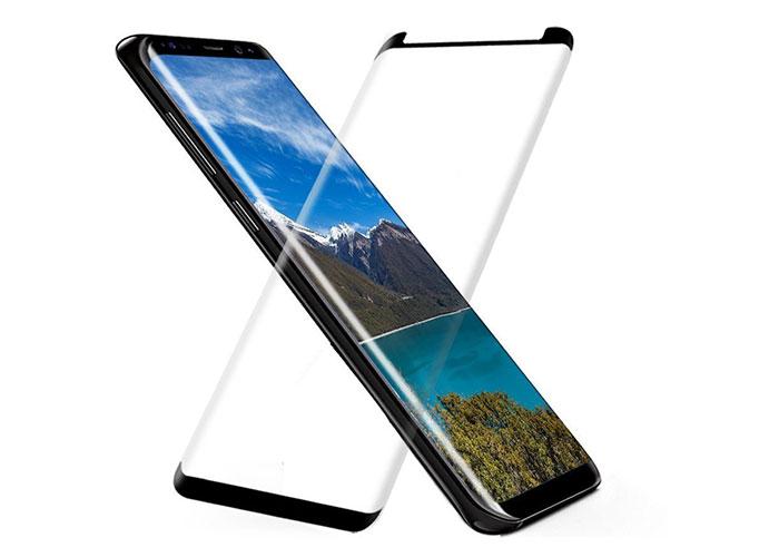S-link Swapp SWE-S83DC Şeffaf Samsung Galaxy S8 3D Cam Ekran Koruyucu