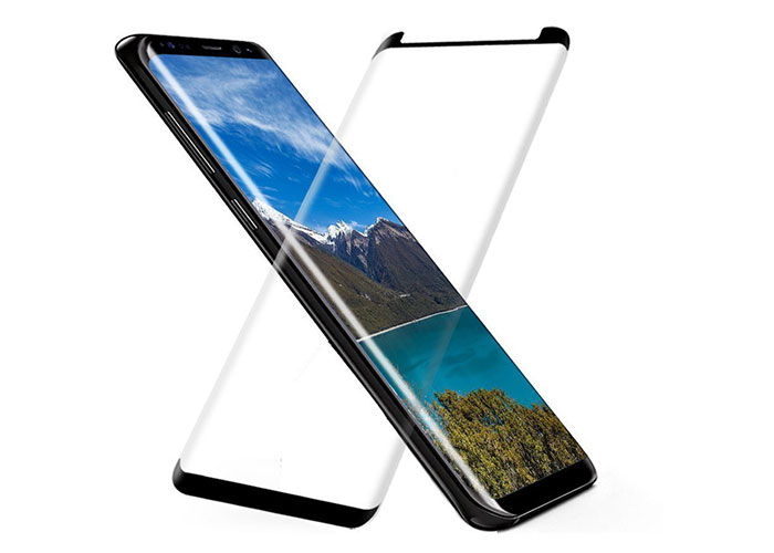 S-link Swapp SWE-S8P3DC Transparent Samsung Galaxy S8 Plus 3D Glass Screen Protector