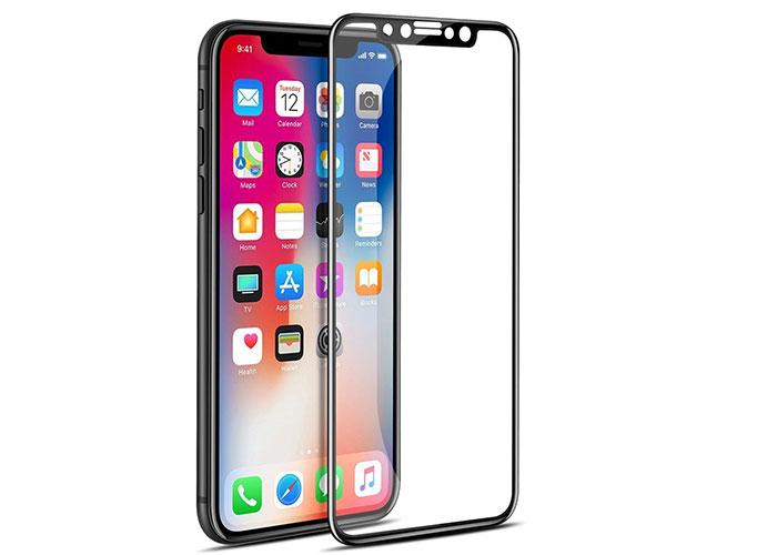 S-link Swapp SWE-IP822DB Siyah iPhone X Temperli 2D Cam Koruyucu