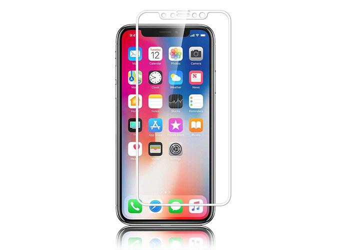 S-link Swapp SWE-IP822DW Beyaz iPhone X Temperli 2D Cam Koruyucu