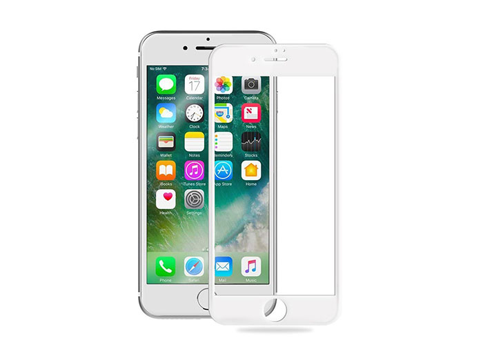 S-link Swapp SWE-IP76DW Beyaz iPhone 7 6D Cam Ekran Koruyucu