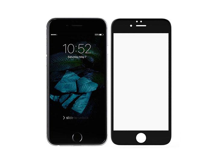 S-link Swapp SWE-IP84DB Siyah iPhone 8/7 4D Cam Ekran Koruyucu