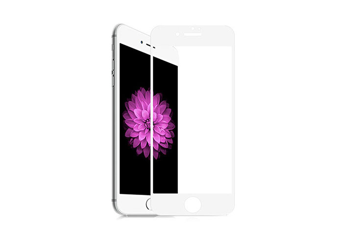 S-link Swapp SWE-IP84DW White iPhone 8/7 4D Glass Screen Protector