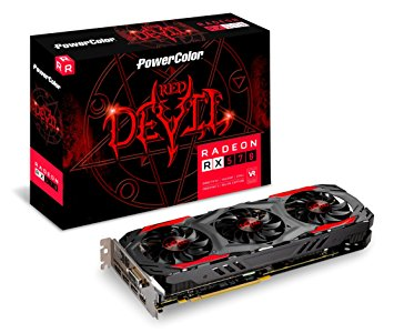 PowerColor AXRX 570 4GBD5-3DH/OC Red Devil RX570 256bit GDDR5 4GB Ekran Kartı