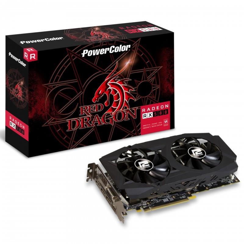 PowerColor Red Dragon RX570 DDR5 256 Bit 8GB Ekran Kartı