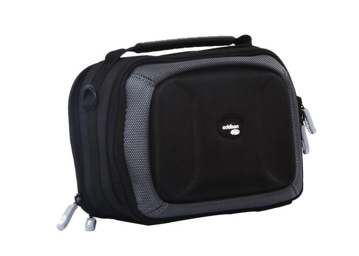 Addison 300208 Black 21x10.5x15cm Oversize Prfsynl Kam. bag