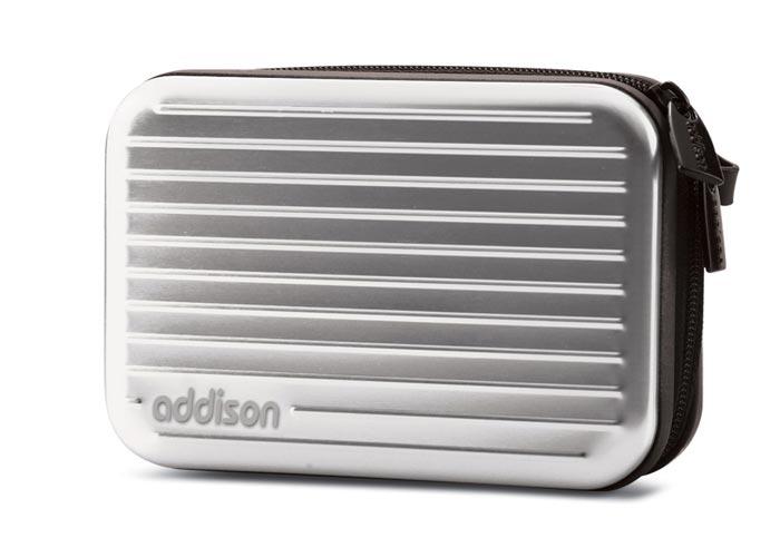 Addison 300236 Gümüş Aleminyum Kamera Çantası