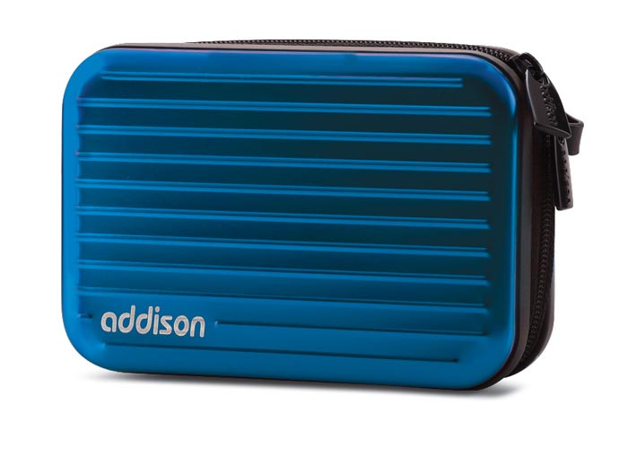 Addison 300236 Blue Aluminum Camera Case