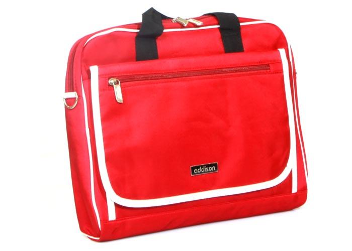 """Addison 300250 15.6"""" Kırmızı Bilgisayar Notebook Çantası + Kaspersky Int. Security 2011"""
