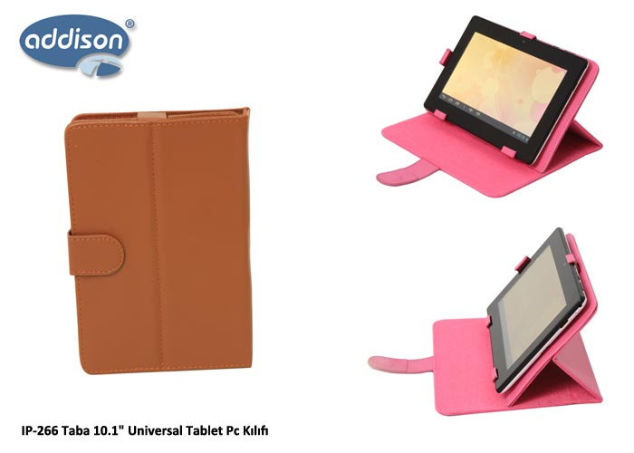 Addison IP-266 Taba 10.1 Universal Tablet Pc Kılıfı