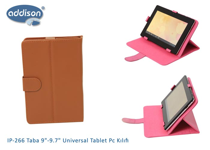 Addison IP-266 Taba 9-9.7 Universal Tablet Pc Kılıfı