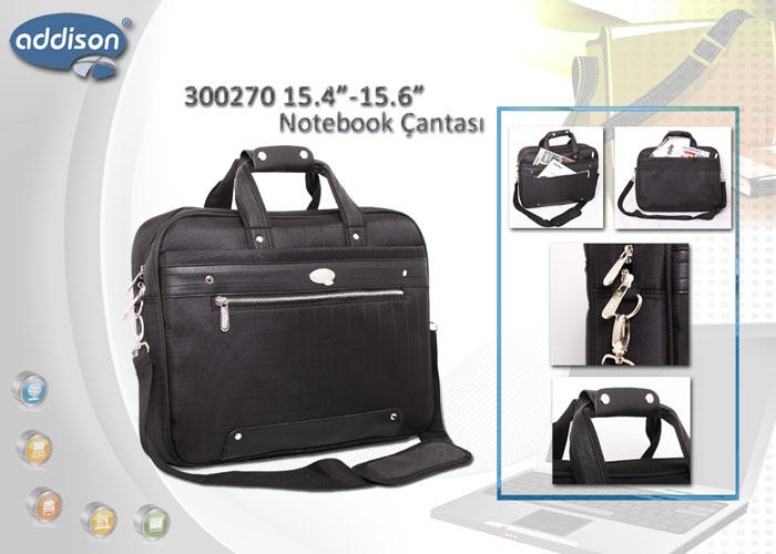 Addison 300270 15.6 Siyah Bilgisayar Notebook Çantası