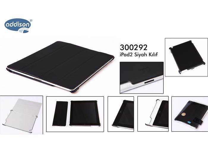 Addison 300292 Siyah iPad2 Kılıfı
