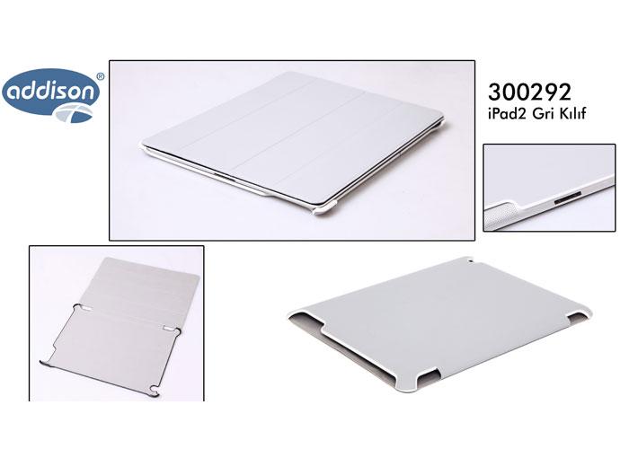 Addison 300292 Gri iPad2 Kılıfı