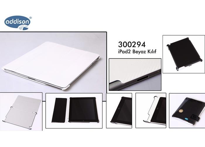 Addison 300298 Beyaz iPad3 Kılıfı