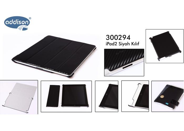 Addison 300294 Siyah iPad2 Kılıfı