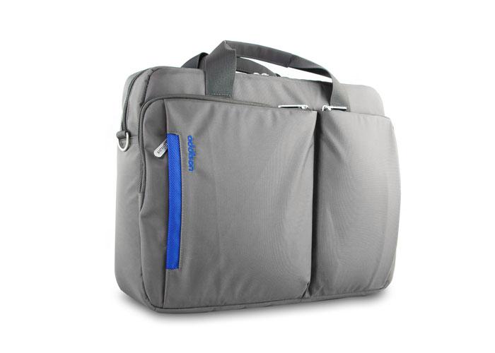 Addison 300359 15.6 Gri/Mavi Bilgisayar Notebook Çantası