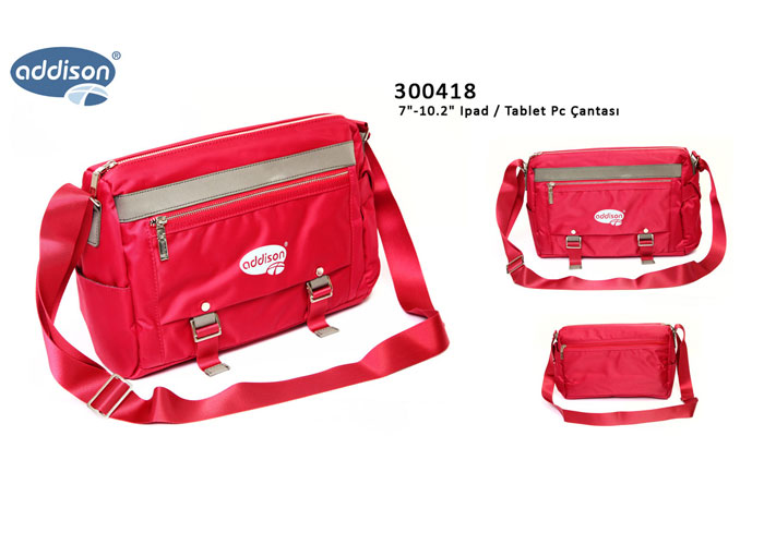 Addison 300418 Kırmızı 7-10.2 Ipad / Tablet Pc Çantası