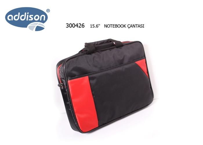 Addison 300426 15.4-15.6 Siyah Bilgisayar Notebook Çantası
