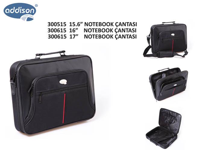 Addison 300615 16 Siyah Bilgisayar Notebook Çantası