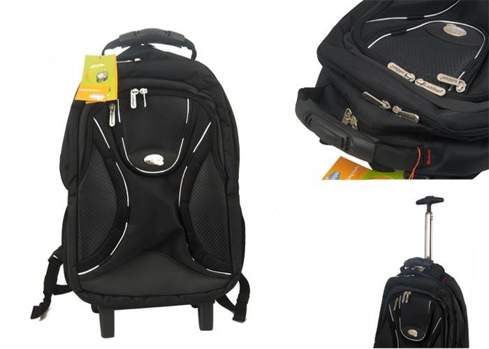 Addison 300619 15.6 Siyah Çekmeli Bilgisayar Notebook Çantası