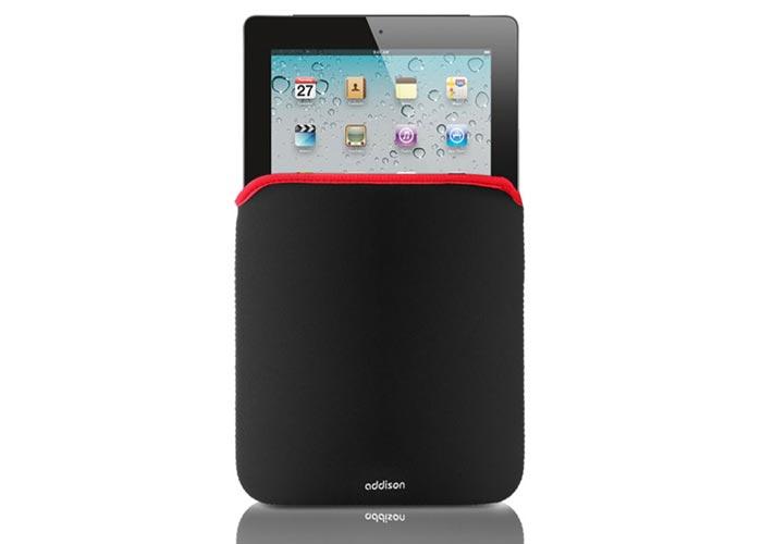Addison 300709 Siyah/Kırmızı 9 Tablet Pc Kılıfı