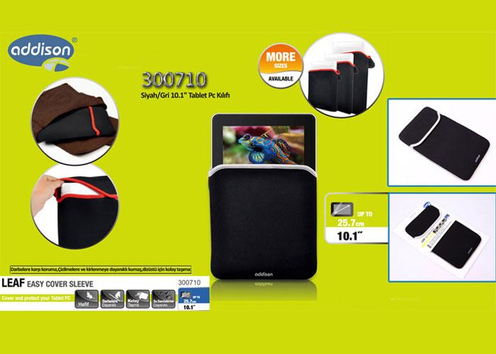 Addison 300710 Siyah/Gri 10.1 Tablet Pc Kılıfı