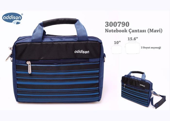 Addison 300790 10 Mavi Bilgisayar Notebook Çantası