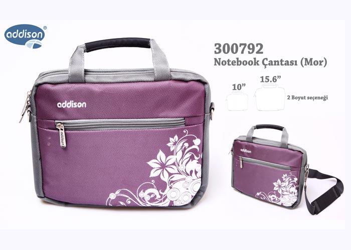 Addison 300792 15.6 Mor Bilgisayar Notebook Çantası