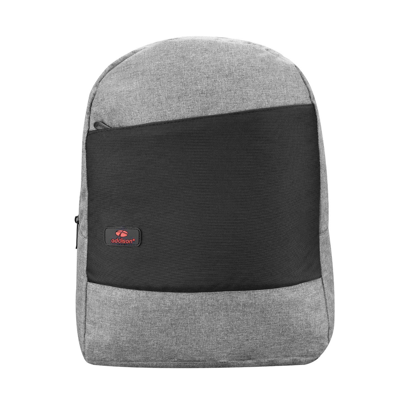 Addison 300802 15.6 Gri/Siyah FABULAUS Notebook Sırt Çantası