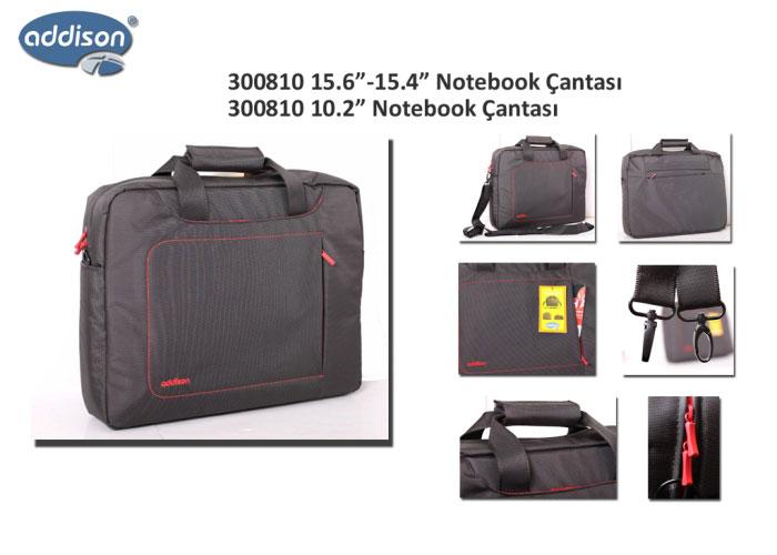 Addison 300810 15.6 Siyah Bilgisayar Notebook Çantası