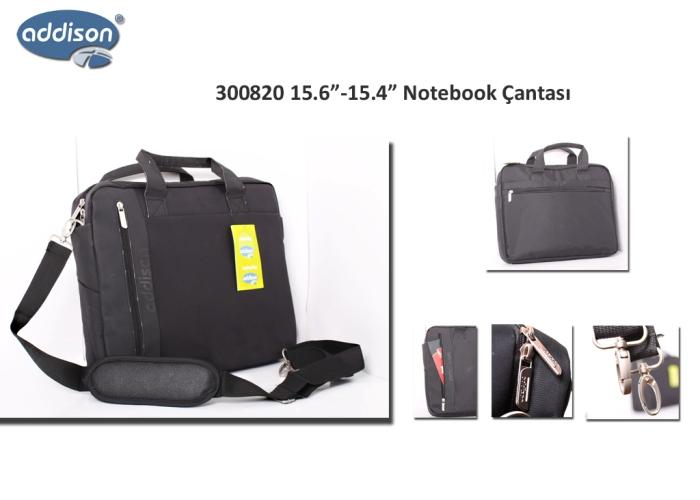 Addison 300820 15.6 Siyah Bilgisayar Notebook Çantası