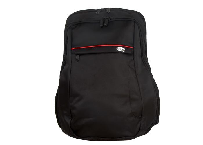 Addison 300878 15.6 Siyah/Kırmızı Bilgisayar Notebook Sırt Çantası