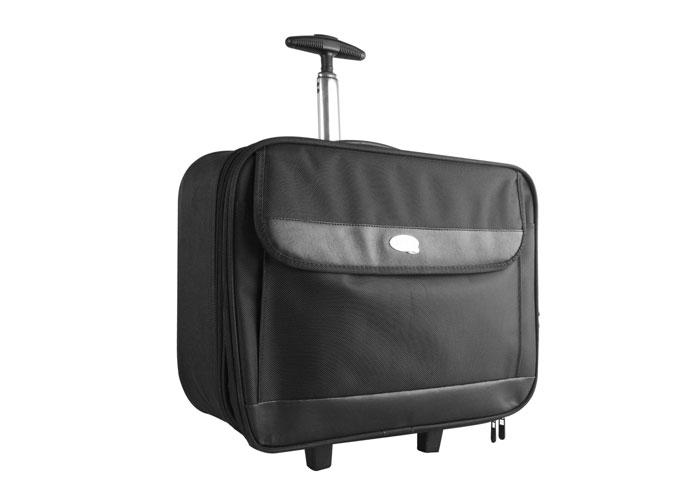 Addison 300926 15.4-15.6 Siyah Çekçekli Seyahat Bilgisayar Notebook Çantası