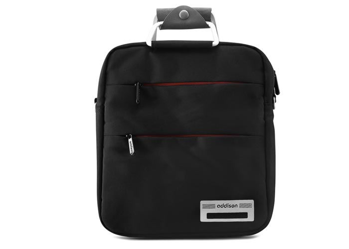 Addison 300949 10-12 Siyah-Turuncu Bilgisayar Netbook Çantası