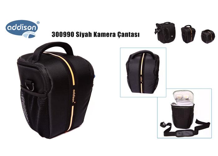 Addison 300990 Black Camera Bag