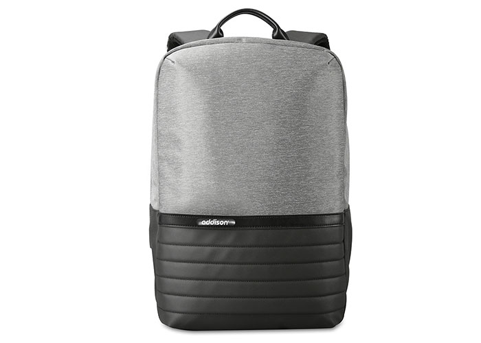 Addison 300994 15.6 Black / Gray Notebook Backpack