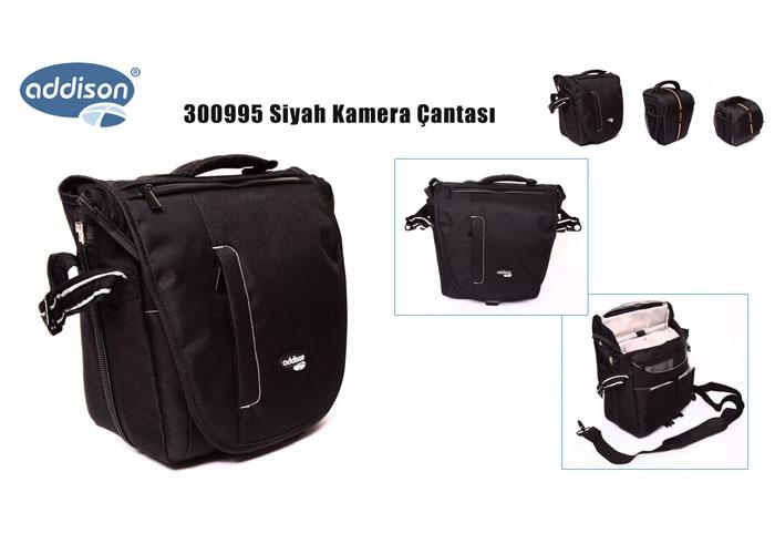 Addison 300995 Black Camera Bag